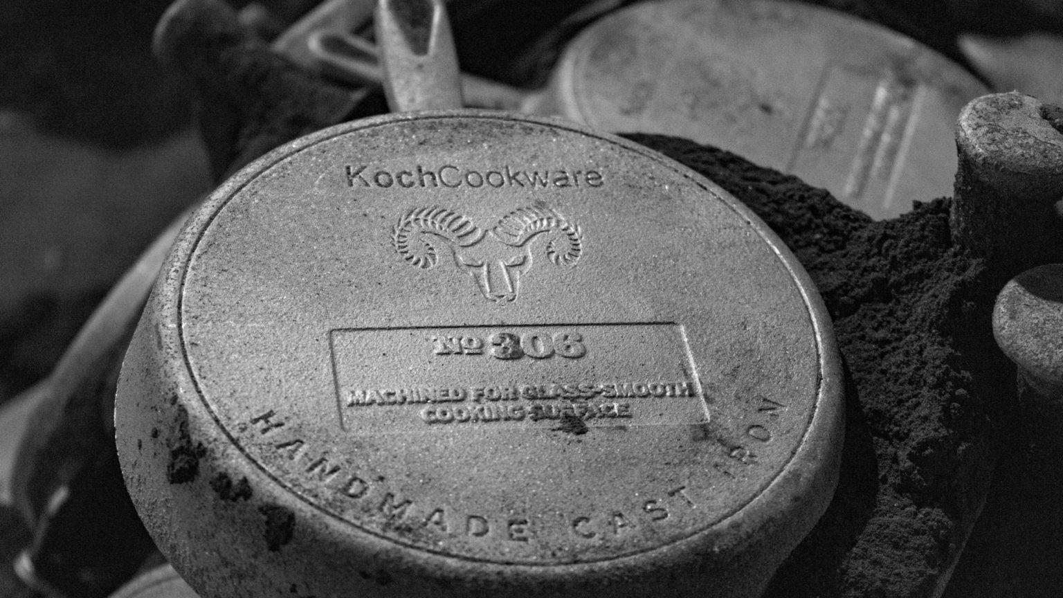 KochCookware No 306 handmade10.25 inch premium cast iron skillet unseasoned