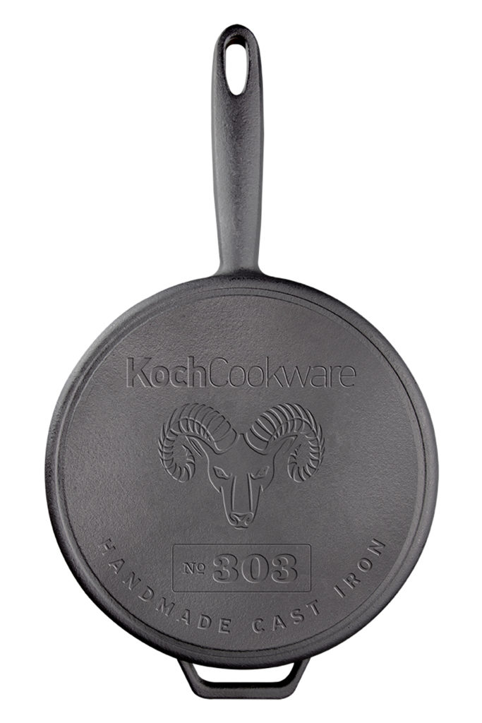 8 inch Kockcookware No 303 Traditional Handmade Cast Iron Skillet