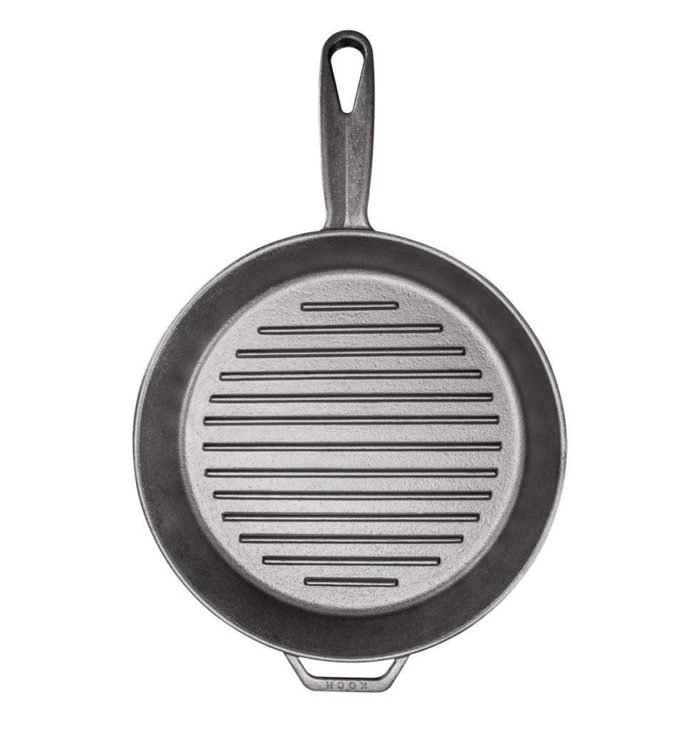 High Quality Kockcookware No 375 Traditional Handmade Cast Iron Skillet Grill